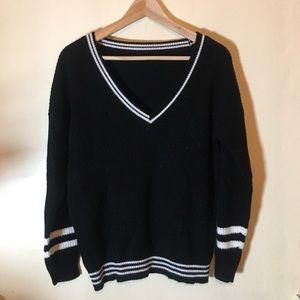 Collegiate sweater
